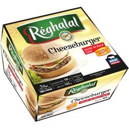 Cheeseburger viande de bœuf halal