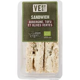 Sélectionné par votre magasin Sandwiches BIO farcis sauce riz, Tofu, aubergines ol... les 2 sandwiches - 150 g