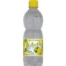 Boisson à l'eau de source aromatisée citron citron vert