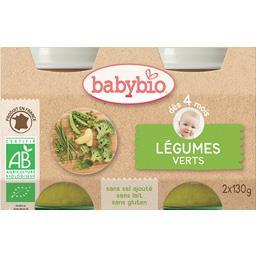 Purée de légumes verts BIO, dès 4 mois