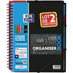 Organiser Book étudiants intégrale A4 seyes