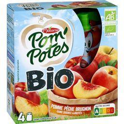 Pom'Potes BIO - Spécialité pomme pêche brugnon sans ...