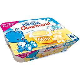P'tit Gourmand - Mini dessert saveur vanille, 6+ moi...