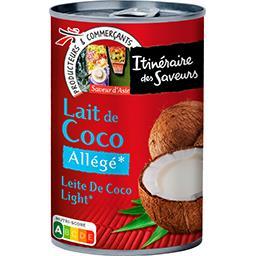 Lait de coco allégé