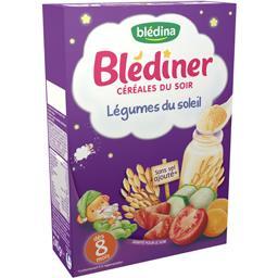 Blédîner - Céréales du soir légumes du soleil, dès 8...