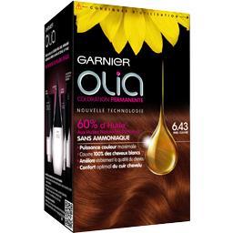 Olia - Coloration miel cuivré 6.43
