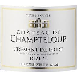 Crémant de Loire Tête de Cuvée - Château de Champteloup Brut