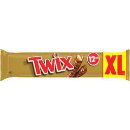 Barres chocolatées biscuit caramel