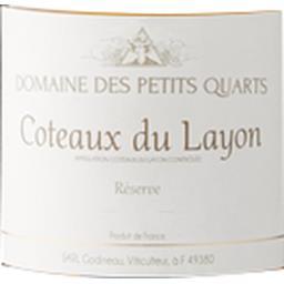 Coteaux du Layon Domaine des Petits Quarts vin Blanc moelleux 2017