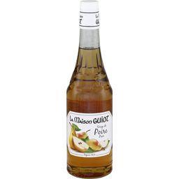 Sirop de poire, la bouteille de 70 cl,LA MAISON GUIOT,la bouteille de 70 cl