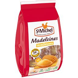 Madeleines nature tendres et moelleuses