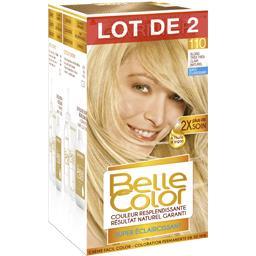 Belle Color blond très très clair naturel, coloration permanente