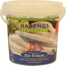 Est-Friture Harengs rémoulade le pot de 280 g net égoutté
