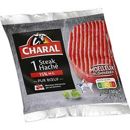 Bifteck haché pur bœuf 15% mg