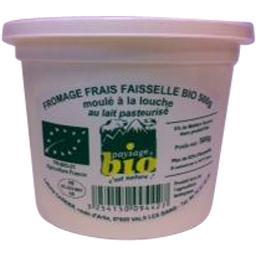Faisselle bio 35%,AREILLADOU,le pot de 500 gr