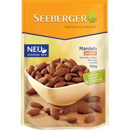 Seeberger Amandes grillées non salé le sachet de 150 g