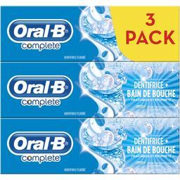 Complete - Dentifrice bain bouche menthe fraîcheur extrême