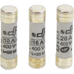 Cartouches fusibles assortis 10A 16A 20A