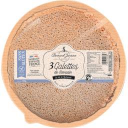 Galettes de sarrasin au sel de Guérande sans gluten