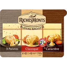 Riches Monts Assortiment Plateau Raclette