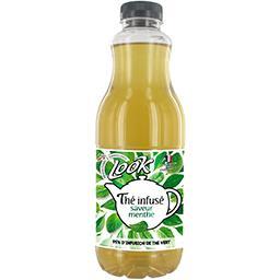 Thé infusé saveur menthe