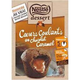 Dessert - Cœurs Coulants au chocolat caramel