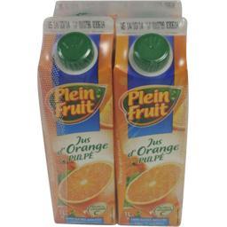 Jus d'orange avec pulpe