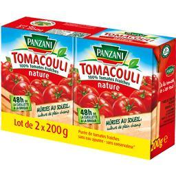 Tomacouli - Purée de tomates natures 100% fraîches