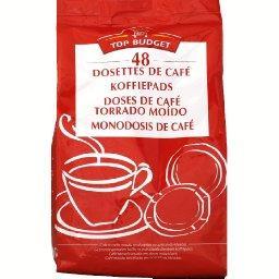 Dosettes souples café robusta