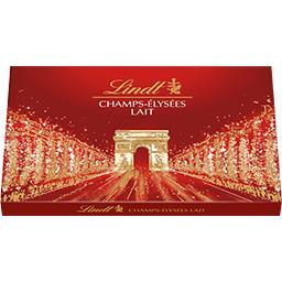 Lindt Champs-Elysées - Assortiment de chocolats Lait la boite de 17 - 184 g