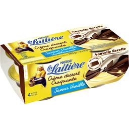 Crème dessert craquante saveur vanille