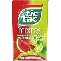 Tic Tac Tic Tac - Pastilles aromatisées à la cerise et au co...