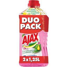 Ajax Fête des Fleurs - Nettoyant ménager toutes surfaces fraîcheur naturelle