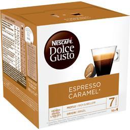 Dolce Gusto - Capsules de café Espresso caramel