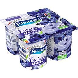 Frutimax - Yaourt myrtille avec morceaux de fruits
