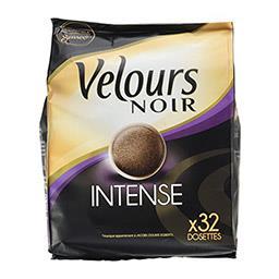 Café dosettes Intense Velours Noir