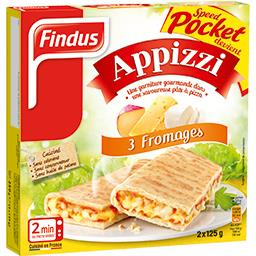 Appizzi - Pizza sandwich 3 fromages
