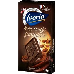 Chocolat noir truffé fantaisie