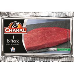 Bifteck*** extra tendre, viande bovine Française