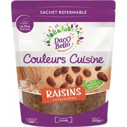 Daco Bello bello Couleurs Cuisine - Raisins sultanines