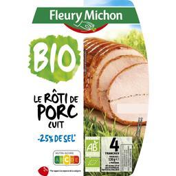 Le Rôti de Porc cuit BIO sel réduit