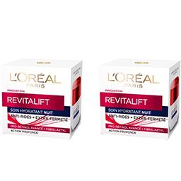 Revitalift - Soin hydratant nuit anti-rides + extra-...