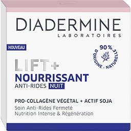 Diadermine Lift + - Soin de nuit nourrissant anti-rides ultra f...