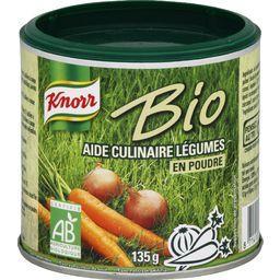 Knorr BIO - Aide culinaire légumes en poudre BIO la boite de 135 g