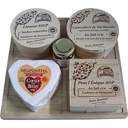 Assortiment de fromages AOP Traditions de Normandie