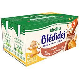 Blédidej - Céréales au lait de suite saveur pain cho...