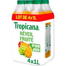 Tropicana Tropicana Pure Premium - Jus de fruits Réveil Fruité
