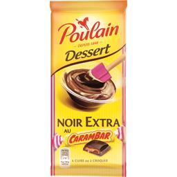 Chocolat Dessert noir extra au Carambar