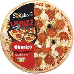 La Pizz chorizo