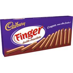 Biscuits Finger double chocolat